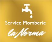Service Plomberie à la Norma